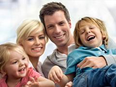 Maine family with life insurance
